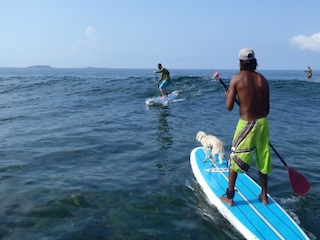 Our Punta Mita stand up paddleboarding instructor Oso Negro