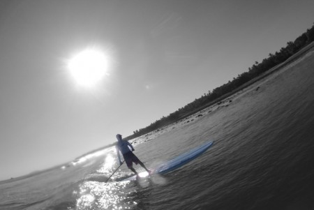 Cool Photo of Greg Stand Up Paddleboarding on El Anclote