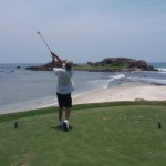 The world's only natural island green - Punta Mita Golf