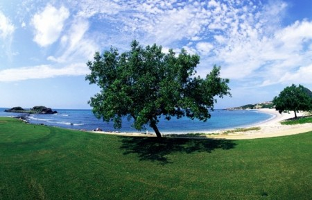 Big skies and white beaches await at Punta Mita's Golf Courses